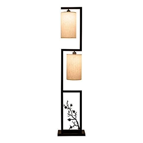 Lámpara De Pie Ajustable Lámpara de pie Dormitorio Lámpara de cabecera Ahora Personalidad Simple Retro Sala de Estar Lámpara de pie Zen Iluminación del Hogar