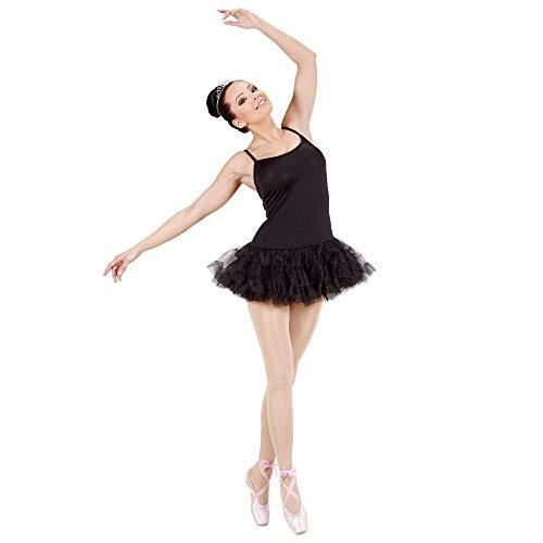 Widmann 76423. Prima Ballerina kostuum, versie zwart, maat L