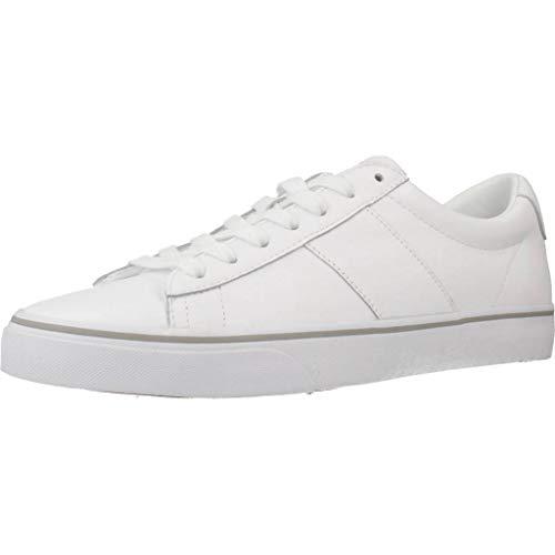 Polo Ralph Lauren Sayer Hombre Zapatillas Blanco