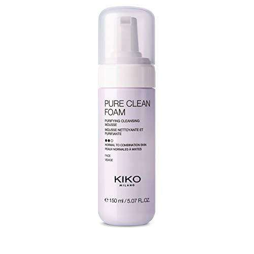 KIKO Milano Pure Clean Foam   Mousse Viso Detergente e Purificante