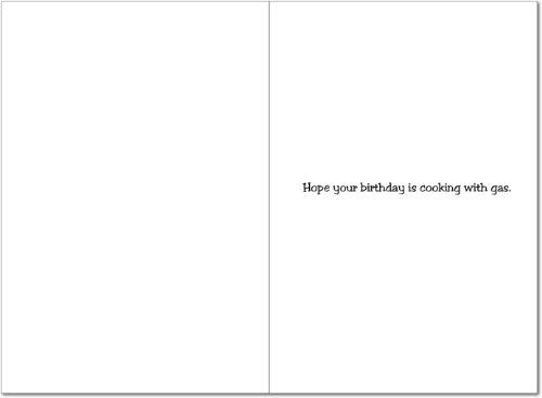 4324 Hot Tub Naughty Humor Birthday Greeting Card with Envelope Photo #2