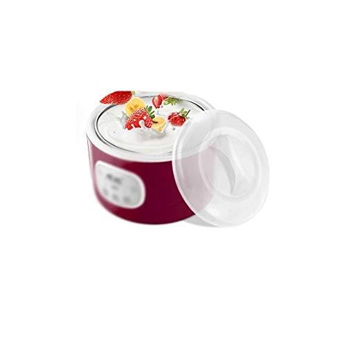 SNJDX Joghurtmaschine - Automatische elektrische Joghurtmaschine Natto Wine Multifunction Machine mit Edelstahlfolie Eine Joghurtbecher