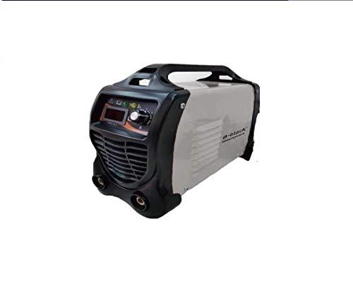 B-black® 300 amperios soldador Inverter con cables 3 + 2 m. Electrodo profesional 300 A