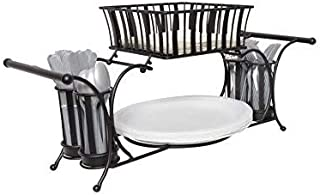 It's Useful. Buffet Caddy for Plates, Utensils, Napkins, and More - Perfect Caddy for Displaying and Carrying Food Service Items