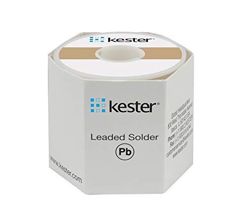 Kester Solder24-6337-8807 Kester Solder Solder Wire, 63/37 Sn/Pb, 183Ã'°C, 1 lb.