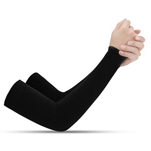 VVXXMO Mangas de protección solar de seda hielo,Cubierta protectora de mano de protección UV,Mangas de brazo para deportes al aire libre