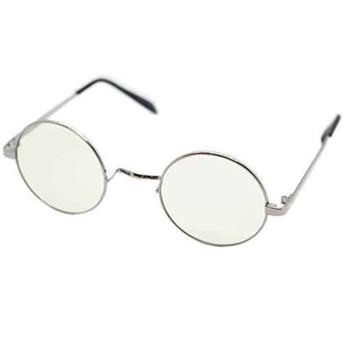 (エイトトウキョウ)eight tokyo 老眼鏡 ブルーライトカット おしゃれ メンズ レディース 兼用 かわいい 1.5 UVカット シニアグラス リーディンググラス[ 鯖江メーカー企画 ]シルバー/ライトグリーン RD6304-SV+1.5
