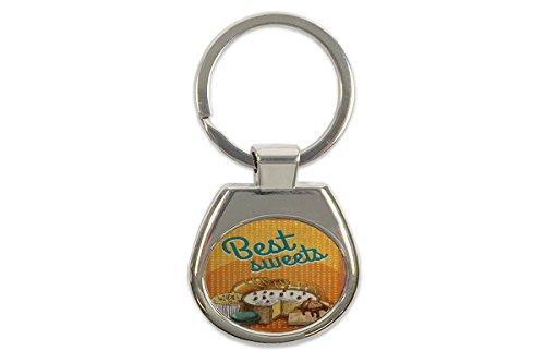 Schlüsselanhänger Küche Bonbons Bedruckt