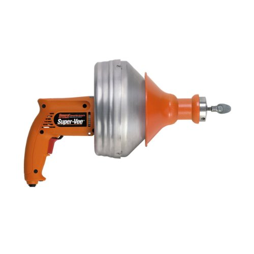 General Wire Spring SV-B-WC Drain Augers, Small, Orange