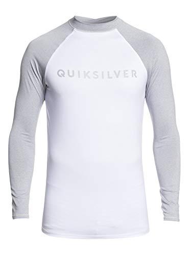 Quiksilver Always There Long Sleeve Rashguard Light Grey Heather 2XL