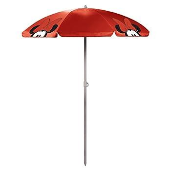 Disney Classics Minnie Mouse  Outdoor Canopy Sunshade Umbrella  5.5  Red