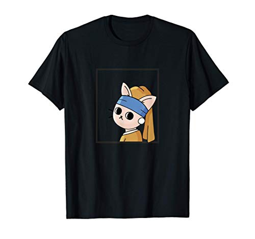 CATIMINI   Le petit chat à la perle T-Shirt