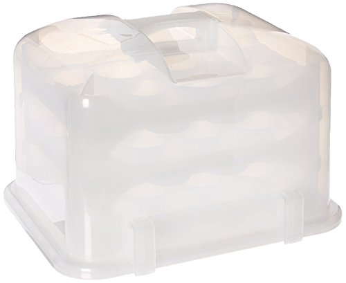 Cupcake Courier Cupcake Carrier- White Translucent,