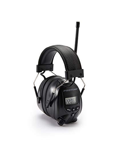 Defensores de oído de radio, con conector de auriculares estéreo para trabajar e industrial, SNR 30dB
