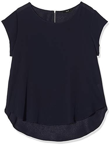 ONLY Damen 15142784 T-Shirt, Blau (Night Sky Night Sky), (Herstellergröße: 44)