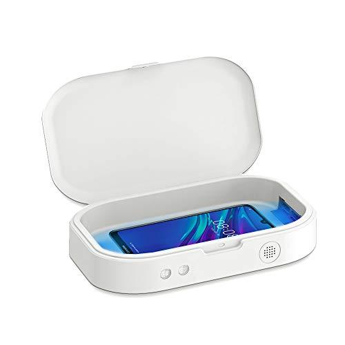 Esterilizador Ultra Violet CC19 Pro elimina el 99% de las bacterias para todo tipo de objetos: teléfonos móviles, auriculares, llaves, gafas. Función aromaterapia