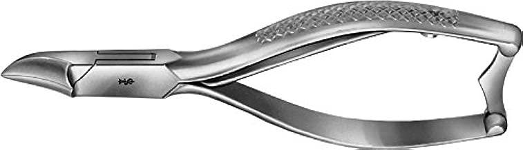 "Aesculap HF213R Nail Cutter, Concave Cutting Edge, 5-1/4"", OR Grade"