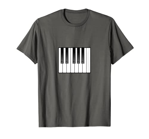 Piano Octave Teclado Ocho Teclas Camiseta
