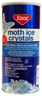 Enoz Moth Crystals, 16 Oz (Pack of 4)