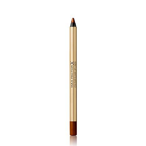 Max Factor Colour Elixir Lip Liner Brown 'n' Bold 16 – Perfekt definierte Lippenkontur für formvollendete, in Szene gesetzte Lippen – Mit geschmeidigem Auftrag