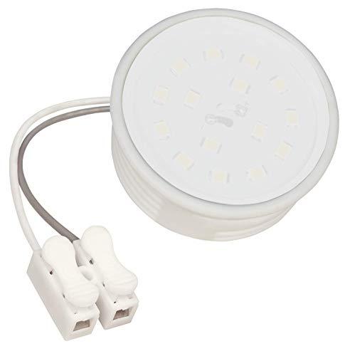 McShine - LED Modul | 5W | 50x23mm | warmweiß | Leuchtmittel für geringe Deckenhöhen | Milchglas