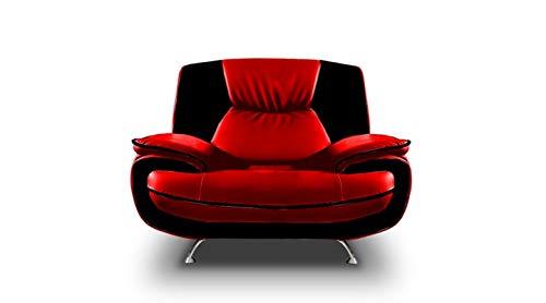 Mos 00025 Onyx 1 - Sitzer Sofa Couch Sessel Kunstleder Farben Varianten