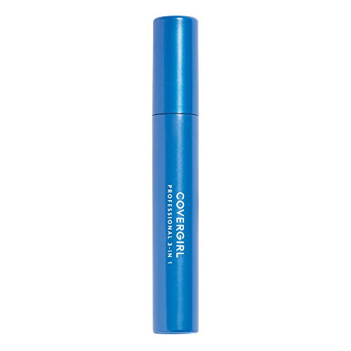 COVERGIRL Professional 3-in-1 Straight Brush Mascara 200 Very Black .3 fl oz