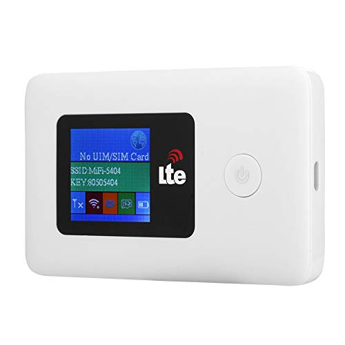 Portable 4G Travel WiFi Hotspot, Mobile Wireless Router, USB 4G LTE Router Speed up to 150Mbps,...