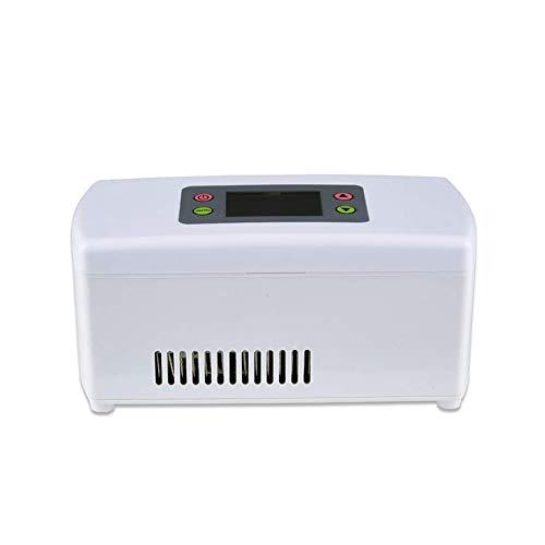 WFDLIU Insulin Tragbare Elektrische Gefrierbox 5L, 12V, Heiße Kalte Tragbare Elektrische Kühlbox, Langlebiges Wasserfestes Außenmaterial, für Reisen und Camping
