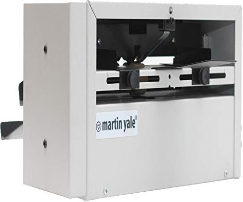 Martin Yale SP100 Score and Perforating Machine, 23 Sheets Per Minute, Will Score or Perforate Sheets From 24lbs Bond to 100lbs Cover Stock, Fully Adjustable Paper Guides