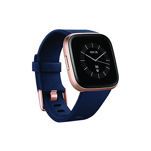 Fitbit Versa 2 Azul marino y rosa