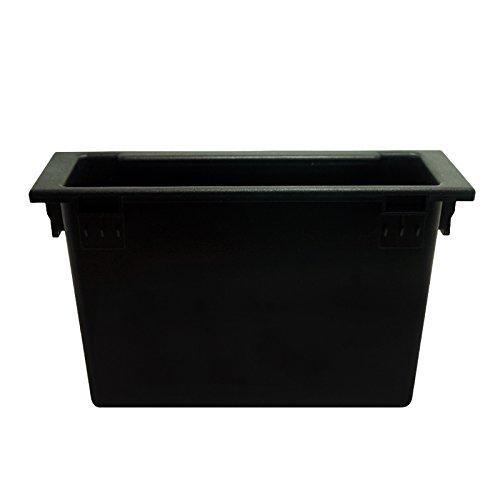 Montura para radio de coche 1 DIN de FEELDO, para el salpicadero, consola, caja de almacenamiento