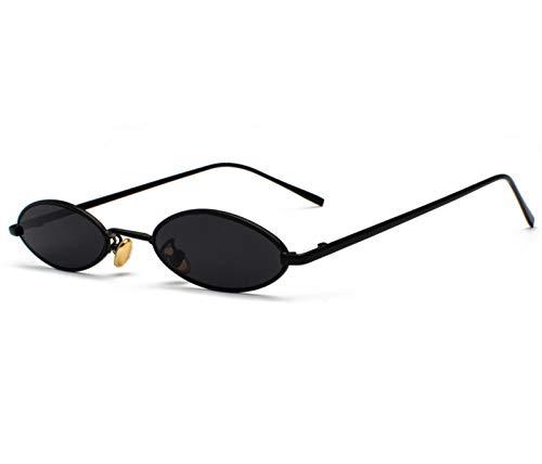 acsefire Gafas de sol retro hippie con lentes ovaladas gafas de sol Steampunk no polarizadas para hombres y mujeres con protección UV400