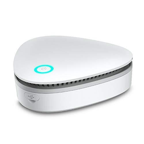 Ozongenerator Tragbarer USB-Akku Ozon-Luftreiniger Geruchsentferner Desodorierungssterilisator für Kühlschrank Schuhschrank Auto Schrank
