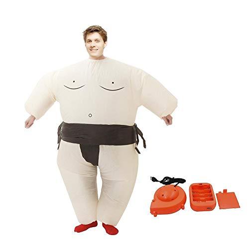 Disfraz de luchador de sumo inflable Disfraz de Halloween para adultos y niños Disfraces inflables Fiesta de cosplay