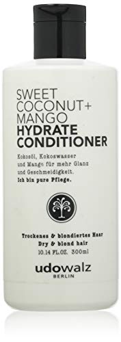 Udo Walz Hairfood Hydrating Conditioner Sweet Coconut+Mango, 1er Pack (1 x 300 ml)