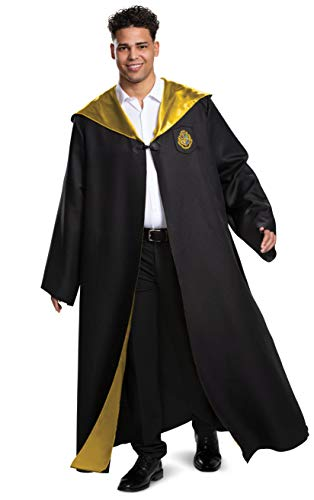 Disguise womens Deluxe Adult Accessory Costume Outerwear, Black & Gold, Medium 38-40 US