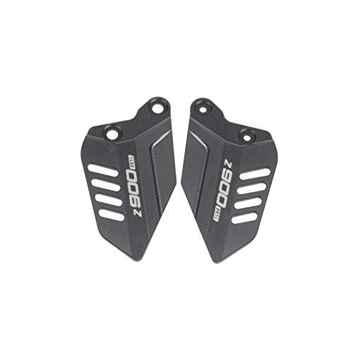 Pie Clavijas Footpeg para K&awasaki Z900RS Z900 RS 2017-2020 Pedal Pedal Protector Motocicleta Placas izquierda y derecha Cubierta de ala Placa de tacón PEG PEG Estriberas (Color : B)