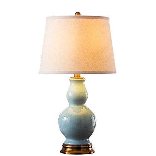 Lxqlan Lámpara De Mesa Americana Dormitorio Dormitorio De La Cama Decoración Chino Moderno Creativo Moderno Lámpara De Lámpara De Cerámica De Lámpara De Cerámica