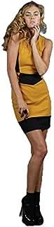 Honey & Beau - Dress Code Dress (HD47029 - Mustard Size 6)