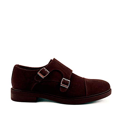 zapatos hebilla hombre
