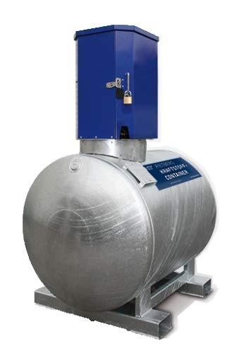 500 Liter Mobile Tankanlage KC-S Dieseltank mit Pumpe 230V Rietberg