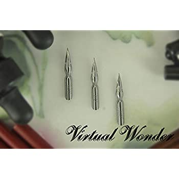 Pk/3 Brause Arrow #66 Calligraphy Nibs, Extra Fine