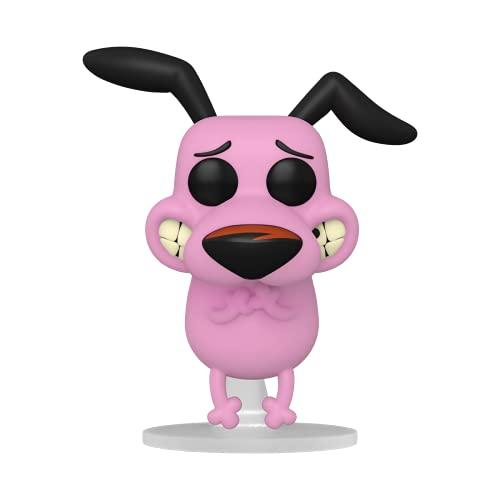 Funko 57788 Pop Animation: Courage - Courage The Cowardly Dog