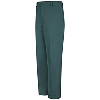 Red Kap Men's Stain Resistant, Flat Front Work Pants, Spruce Green, 36W x 30L from Red Kap Men's Apparel