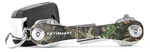 KeySmart - der kompakte Schüsselhalter und Anhänger-Organizer (bis zu 8 Schlüssel,Tarnkleidung)