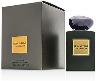 Prive Cologne Spray Cuir Amethyste by Giorgio Armani for Unisex - Eau de Parfum, 100 ml