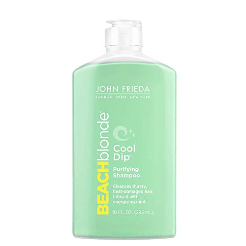 John Frieda Beach Blonde Cool Dip Purifying Shampoo, 10 Ounces