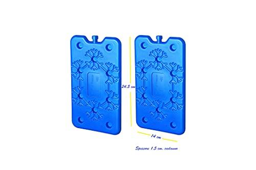 capestore Ice Pack Freddo Extra Piatto Salvaspazio - Tavoletta Ghiaccio Ideale per Frigorifero Camping e Borsa Termica - Grande qualità Refrigerante e Praticità (2)