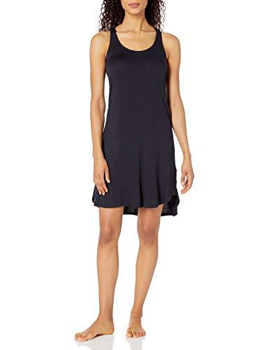 Amazon Brand - Mae Women's Sleepwear Long Racerback Nightgown, Navy, Extra Large